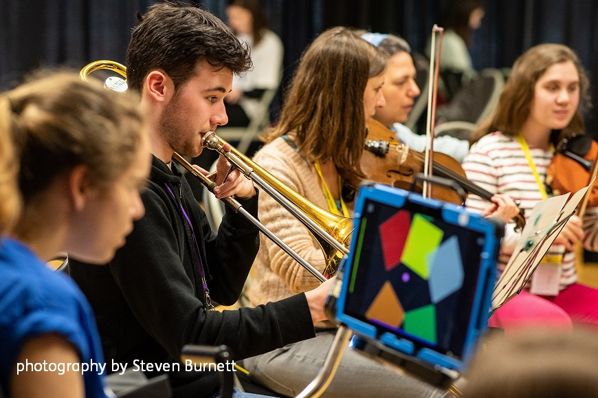 National Open Youth Orchestra residential by Steven Burnett photography