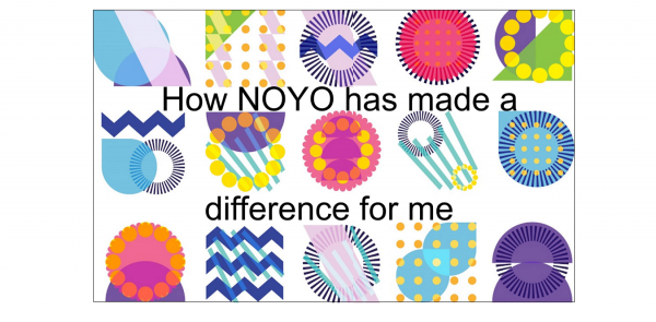 Screenshot of video from NOYO member on How NOYO has made a difference for me