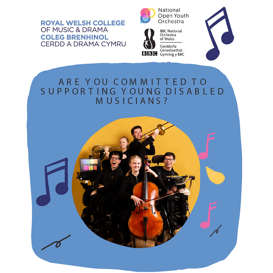 National Open Youth Orchestra in Wales promo poster